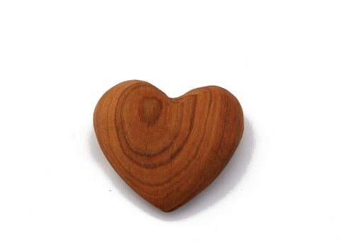Olivewood Hearts 3 cm (min 24)