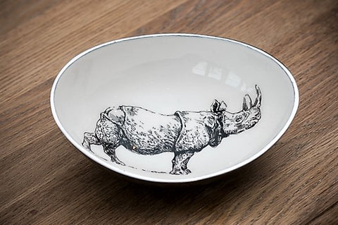 Rhino Oval Bowl Large (min 2)