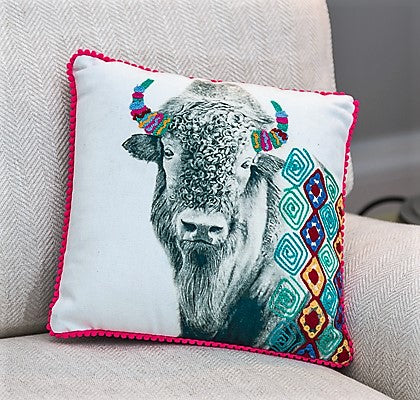Buffalo Cushion (trade min 2)