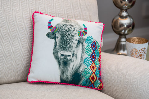 Buffalo Cushion (min 2)