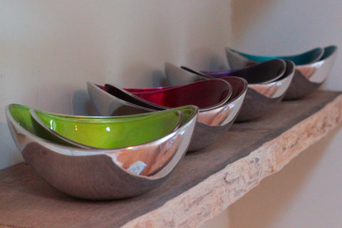 Lime Oval Bowl Large (min 4)
