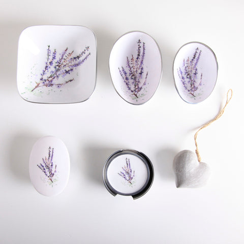 Heather Coasters Set of 6 (trade min 4)