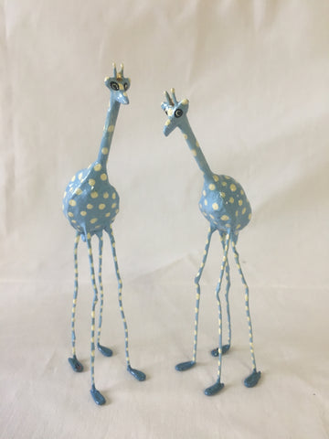 Seedpod Blue Giraffe