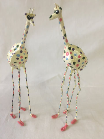 Seedpod Polka Dot Giraffe - Large