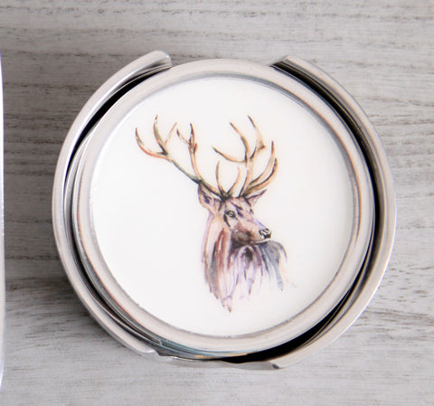 Stag Coasters Set of 6 (Trade min 4 / Retail min 1)