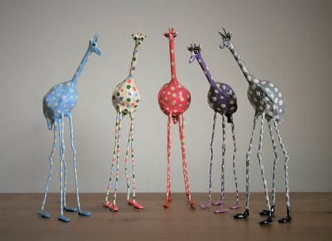 Seedpod Pink Giraffe - Large