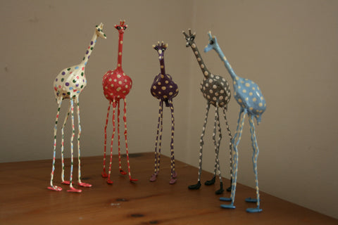 Seedpod Purple Giraffe - Large
