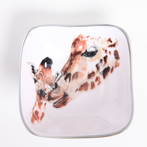 Giraffe Square Bowl (Trade min 4 / Retail min 1)