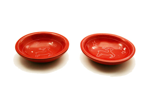 Jumping Elk Bowl Small (min 6)