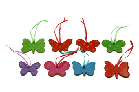 Soapstone Hanging Butterflies 6 cm (24 per display box - min 24)