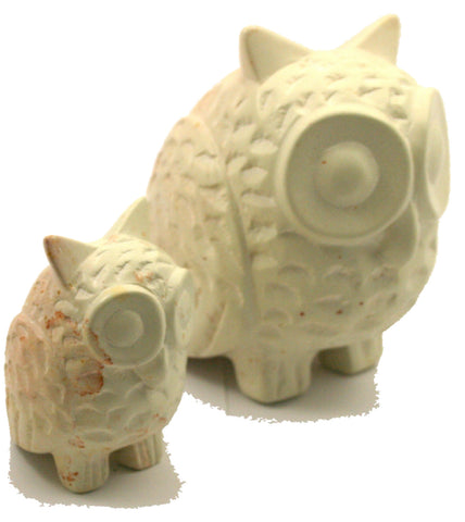 Natural Samburu Owls - 7cm (min set of 6)