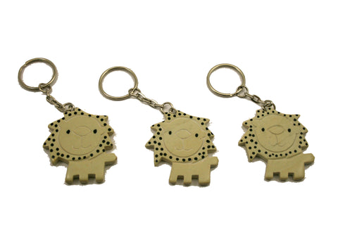 Lion Keyrings 5 cm (24 per display box - min 24)