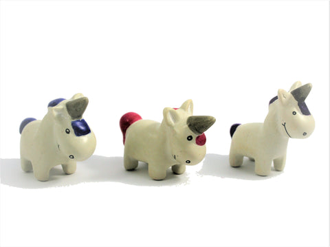 Standing Unicorn 3 cm (24 display box - min 24) (New Product in Stock April 2019)