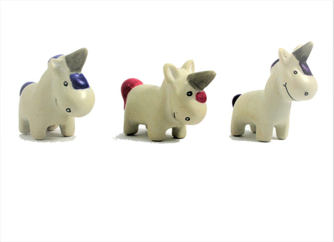 Standing Unicorn 3 cm (24 display box - min 24)