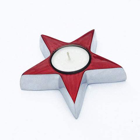 Red Star Tealight - SOLO PRODUCT SPECIAL SALE PRICE (min 2)