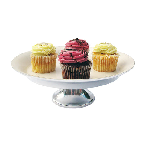 Ivory Cake Stand Small - SOLO PRODUCT SPECIAL SALE PRICE (min 2)