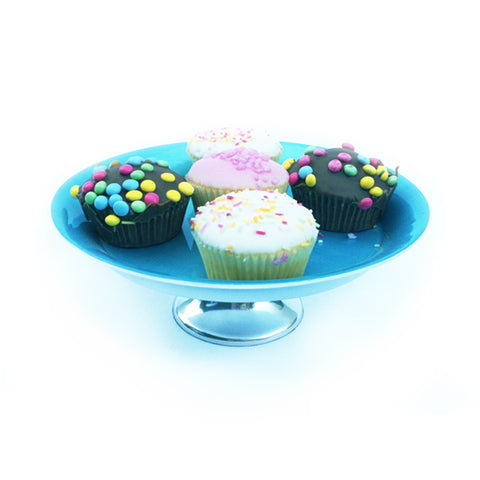 Turquoise Cake Stand Small - SOLO PRODUCT SPECIAL SALE PRICE (min 2)