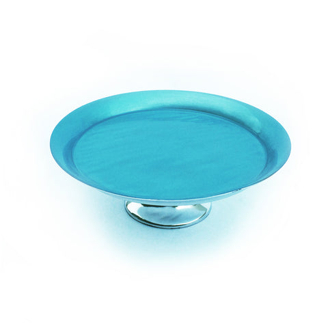 Turquoise Cake Stand Medium - SOLO PRODUCT SPECIAL SALE PRICE (min 2)