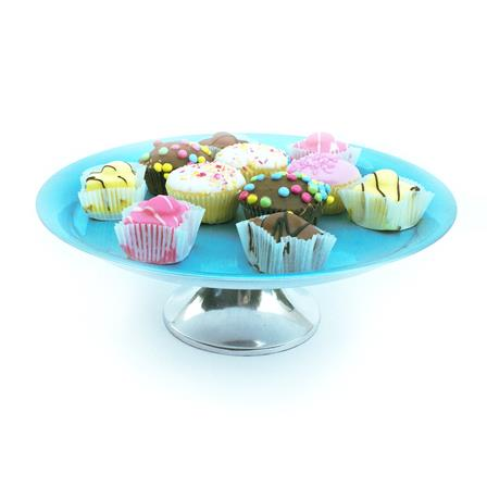 Turquoise Cake Stand Large - SOLO PRODUCT SPECIAL SALE PRICE (min 2)