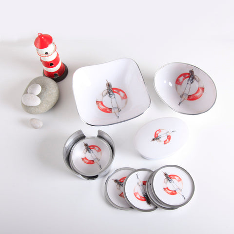 Life Buoy Coaster Set of 6 (min 4)