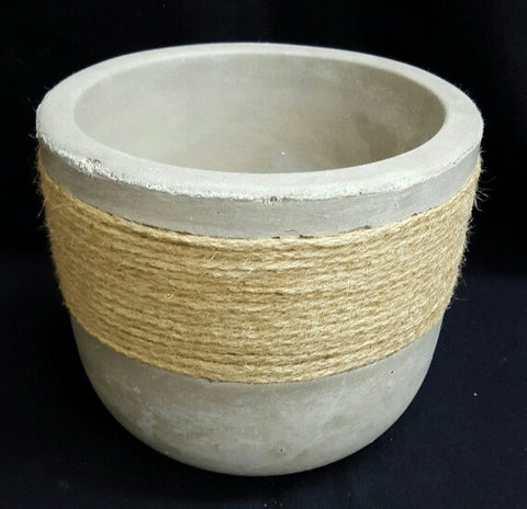 Large Roped Planter 17 cm