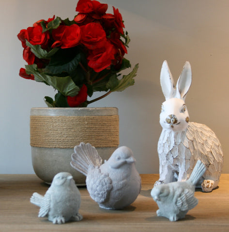 Sitting Hare 23 cm (min 2) **NEW PRODUCT FOR 2017*** OUT OF STOCK*****