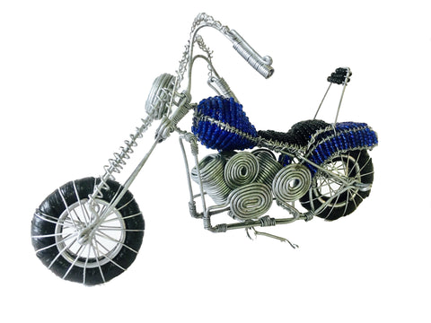 Wire & Bead Motorbikes Small 18 cm (trade min 2)