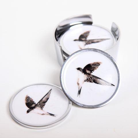 House Martin Coasters Set of 6 (min 4)