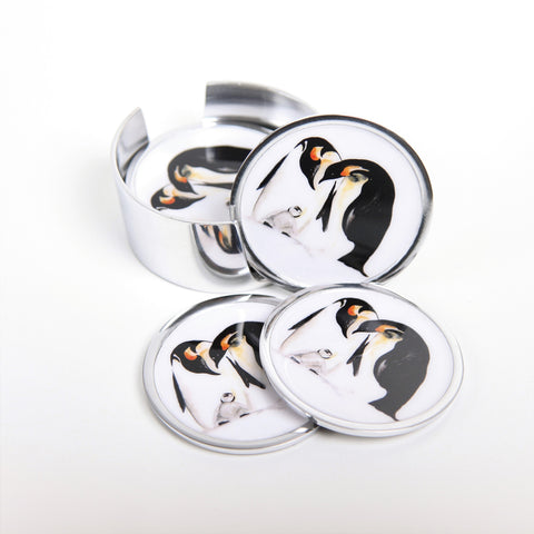 Penguin Coasters Set of 6 (Trade min 4 / Retail min 1)