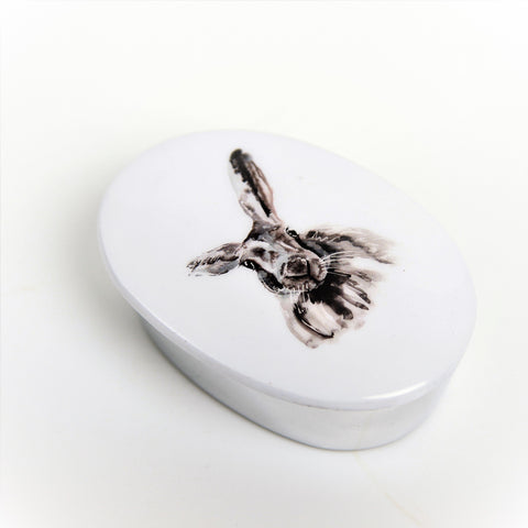 Hare Trinket Box (min 4) (New Product in Stock April 2019)