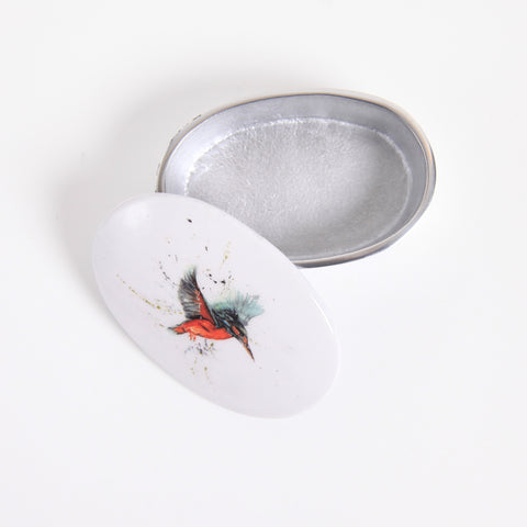 Kingfisher Trinket Box (min 4)