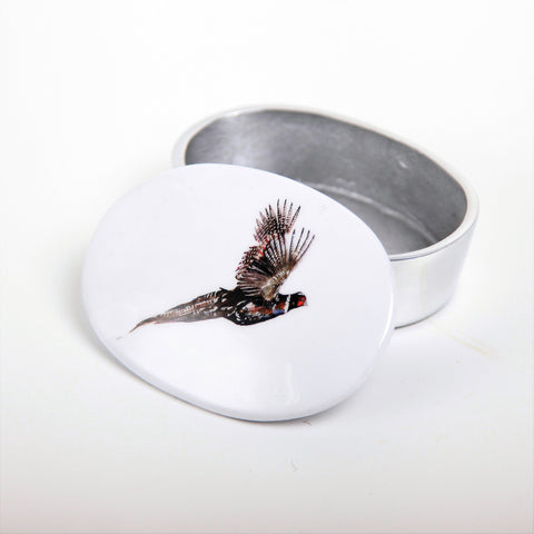 Pheasant Trinket Box (min 4) (New Product in Stock March 2019)