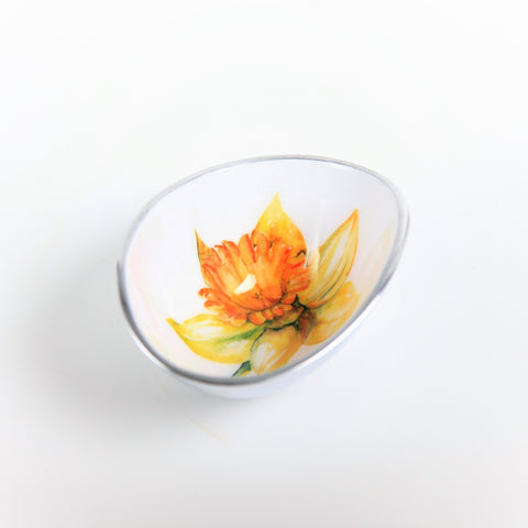 Daffodil Oval Bowl Petite (Trade min 4 / Retail min 1)