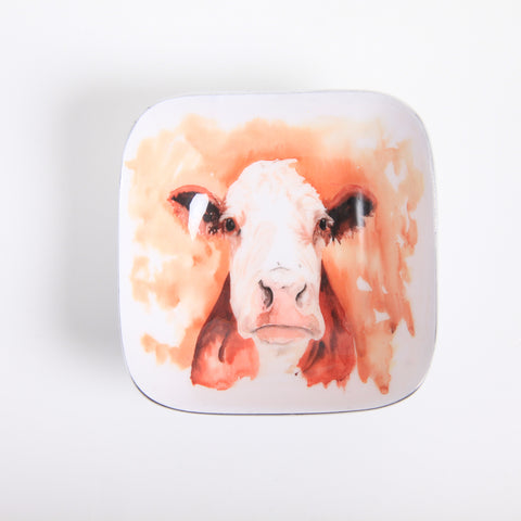 Hatty the Cow Square Bowl (trade min 4)