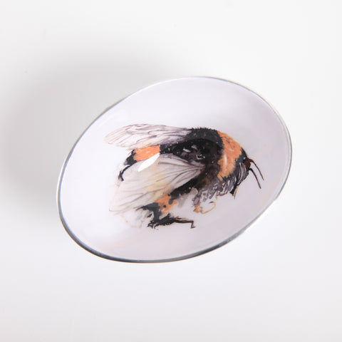 Bee Oval Bowl Small (min 4) (New Product in Stock April 2019)