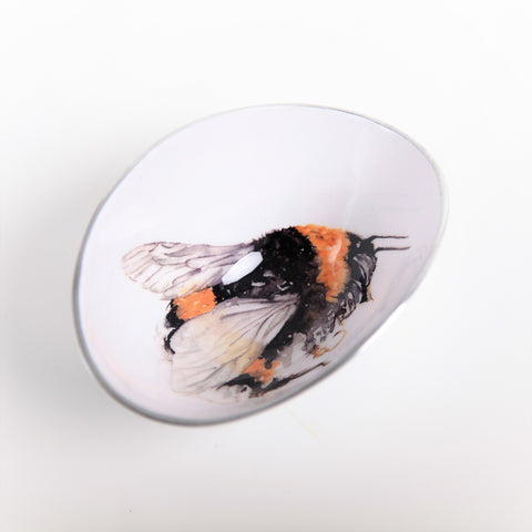 Bee Oval Bowl Small (Trade min 4 / Retail min 1)