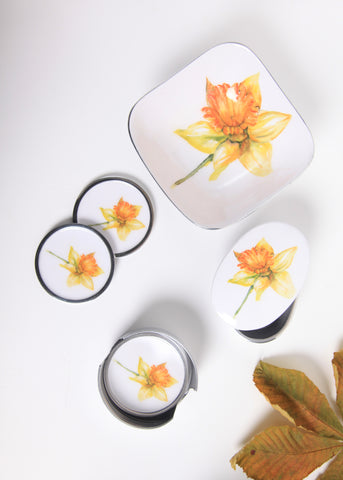 Daffodil Coasters Set of 6 (min 4) (New Product in Stock April 2019)