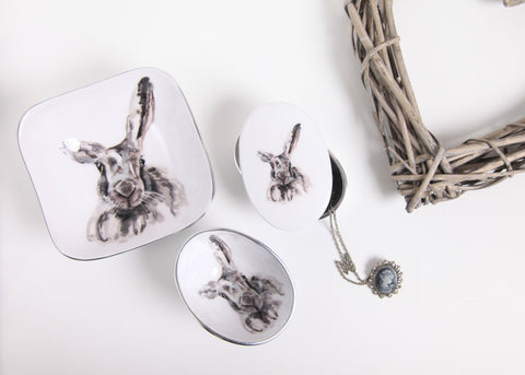 Hare Coasters Set of 6 (trade min 4)