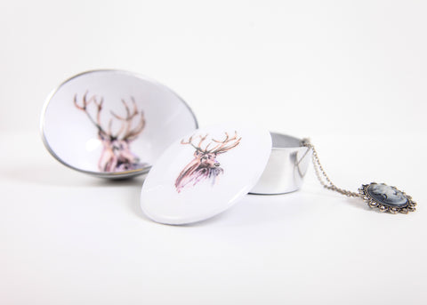 Stag Oval Bowl Petite (min 4) (New Product in Stock March 2019)