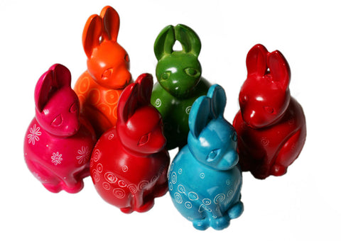 Mara Coloured Rabbits - Small (min set of 6)