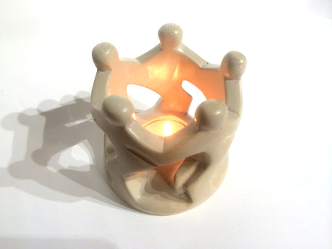 Natural Dancing Family Tealight (set of 6 - min 6)