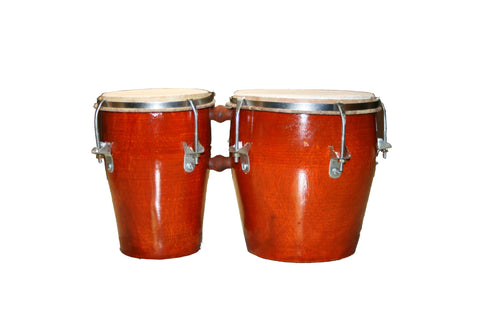 Handmade Natural Bongo Drum