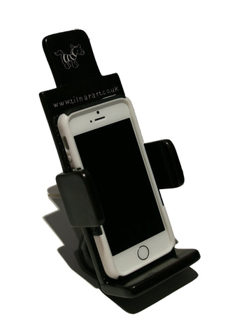 Soapstone Mobile Phone Holder - Black (min 2)