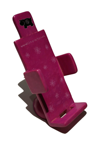 Soapstone Mobile Phone Holder - Pink (min 2)