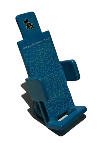 Soapstone Mobile Phone Holder - Blue (min 2)