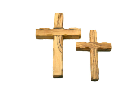 Olivewood Cross with Hanger - Medium (min 2)