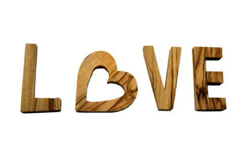 Olivewood Word - Love (min 2)