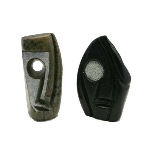 Abstract Soapstone Heads Assorted (min 4)