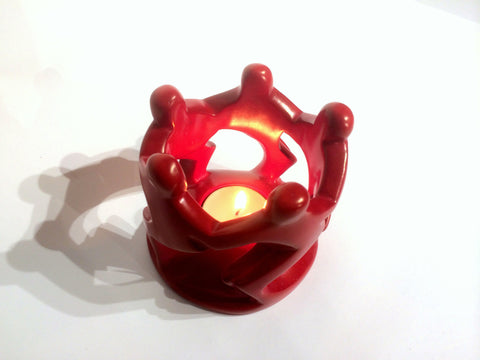 Red Dancing Family Tealight (set of 6 - min 6)