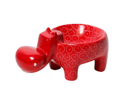 Red Hippo Bowl (min 2)